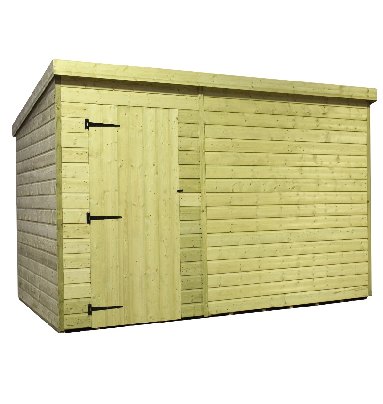 this empire 10x8 pent garden shed is built using quality tanalised - Garden Sheds 9x6